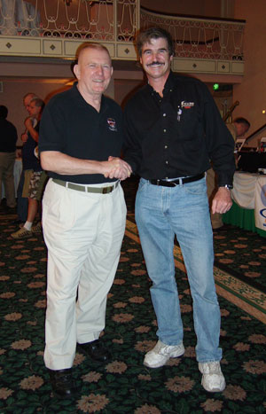 Gene Kranz and Chuck Clayton